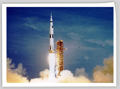 Image 1 Apollo 11 spacecraft deployed from Launch Complex