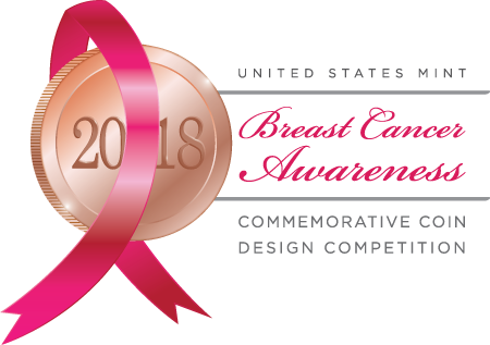 United States Mint Breast Cancer Awareness 2018 Commemorative Coin Design Competition