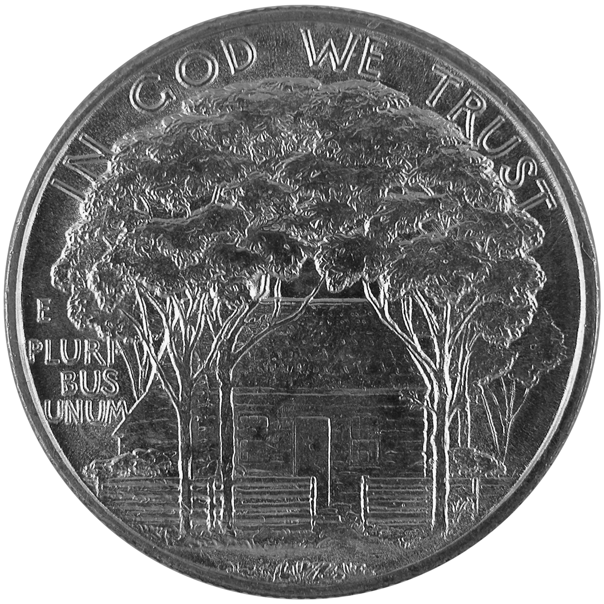 1922 Ulysses S. Grant Memorial Commemorative Silver Half Dollar Coin Reverse