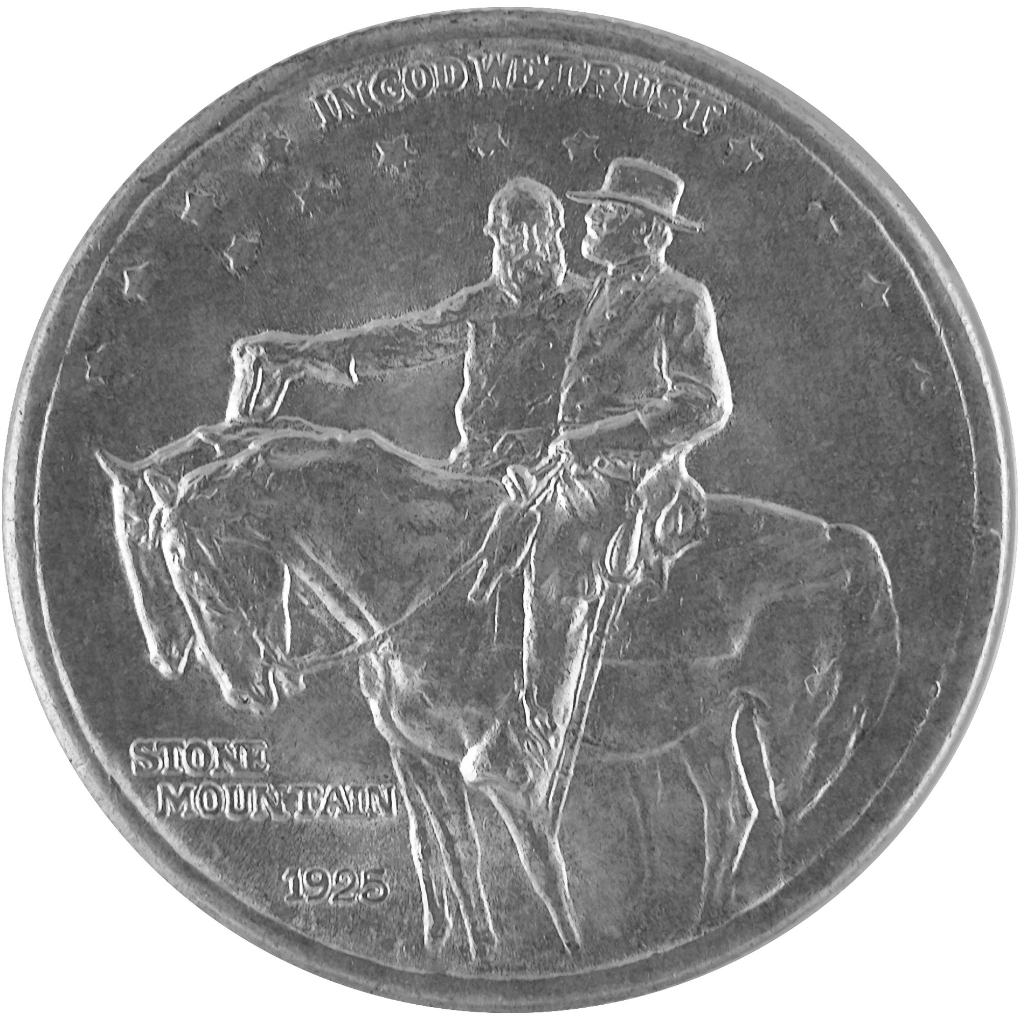Stone Mountain Half Dollar Coin