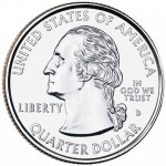 1999 50 State Quarters Coin Uncirculated Obverse