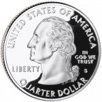 2002 50 State Quarters Coin Proof Obverse