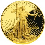 2002 American Eagle Gold One Ounce Proof Coin Obverse