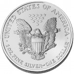 2003 American Eagle Silver One Ounce Bullion Coin Reverse