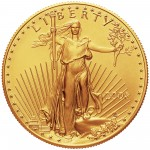2004 American Eagle Gold One Ounce Bullion Coin Obverse