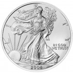2004 American Eagle Silver One Ounce Bullion Coin Obverse