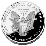 2004 American Eagle Silver One Ounce Proof Coin Reverse