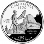 2005 50 State Quarters Coin California Proof Reverse