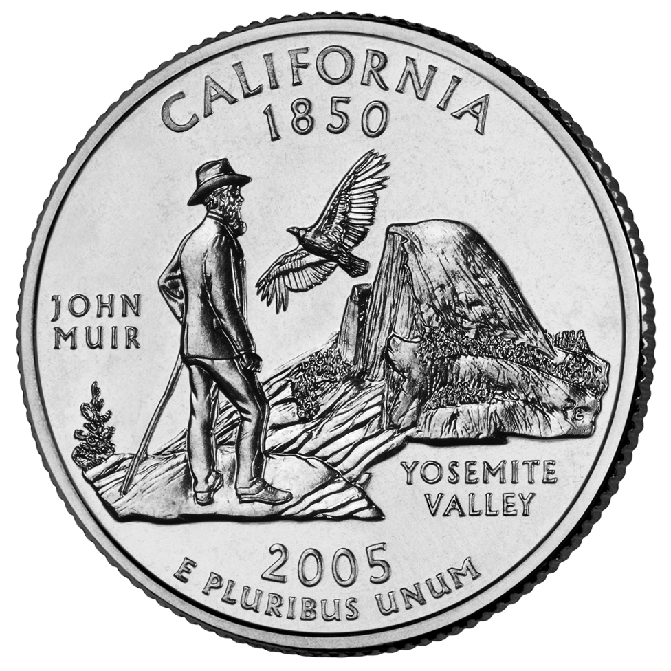 2005 50 State Quarters Coin California Uncirculated Reverse