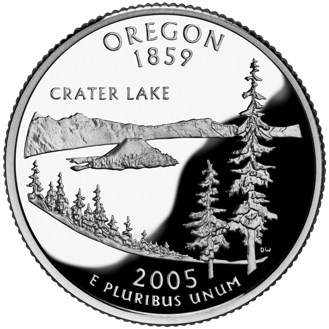 2005 50 State Quarters Coin Oregon Proof Reverse