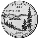 2005 50 State Quarters Coin Oregon Uncirculated Reverse