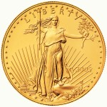 2005 American Eagle Gold One Ounce Bullion Coin Obverse