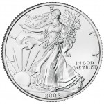 2005 American Eagle Silver One Ounce Bullion Coin Reverse