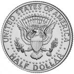 2005 Kennedy Half Dollar Uncirculated Reverse