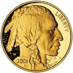 2006 American Buffalo One Ounce Gold Proof Coin Obverse