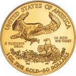 2006 American Eagle Gold One Ounce Bullion Coin Reverse