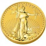2006 American Eagle Gold One Ounce Enhanced Reverse Proof Coin Obverse