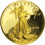 2006 American Eagle Gold One Ounce Proof Coin Obverse