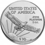 2006 American Eagle Platinum Tenth Ounce Bullion Coin Reverse