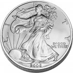2006 American Eagle Silver One Ounce Bullion Coin Obverse