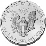2006 American Eagle Silver One Ounce Bullion Coin Reverse