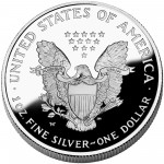 2006 American Eagle Silver One Ounce Proof Coin Reverse