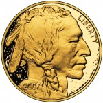 2007 American Buffalo One Ounce Gold Proof Coin Obverse