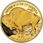 2007 American Buffalo One Ounce Gold Proof Coin Reverse