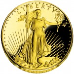 2007 American Eagle Gold One Ounce Proof Coin Obverse