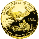 2007 American Eagle Gold One Ounce Proof Coin Reverse