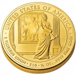 2007 First Spouse Gold Coin Dolley Madison Uncirculated Reverse
