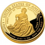 2007 First Spouse Gold Coin Martha Washington Proof Reverse