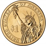 2007 Presidential Dollar Coin Uncirculated Reverse
