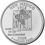 2008 50 State Quarters Coin New Mexico Uncirculated Reverse