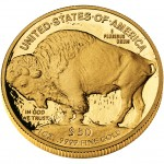 2008 American Buffalo One Ounce Gold Proof Coin Reverse