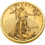 2008 American Eagle Gold One Ounce Bullion Coin Obverse