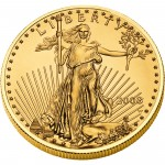 2008 American Eagle Gold One Ounce Uncirculated Coin Obverse