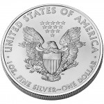 2008 American Eagle Silver One Ounce Bullion Coin Reverse
