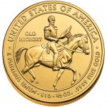 2008 First Spouse Gold Coin Jackson Liberty Uncirculated Reverse