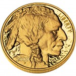 2009 American Buffalo One Ounce Gold Proof Coin Obverse