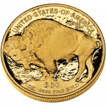 2009 American Buffalo One Ounce Gold Proof Coin Reverse