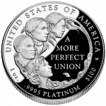 2009 American Eagle Platinum One Ounce Proof Coin Reverse