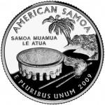 2009 DC US Territories Quarters Coin American Samoa Proof Reverse