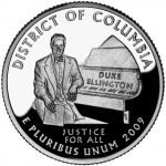 2009 DC US Territories Quarters Coin District Of Columbia Proof Reverse