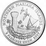2009 DC US Territories Quarters Coin Northern Mariana Islands Uncirculated Reverse