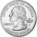 2009 DC US Territories Quarters Coin Uncirculated Obverse