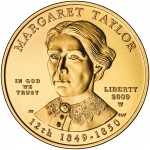 2009 First Spouse Gold Coin Margaret Taylor Uncirculated Obverse