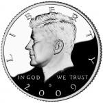 2009 Kennedy Half Dollar Proof Obverse San Francisco
