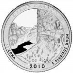 2010 America The Beautiful Quarters Coin Grand Canyon Arizona Proof Reverse