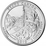 2010 America The Beautiful Quarters Coin Grand Canyon Arizona Uncirculated Reverse